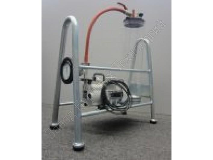 Vacuum device 230 VAC for dearing pore-water pressure on site